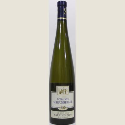 RIESLING SAERING GRAND CRU 2005 - DOMAINES SCHLUMBERGER